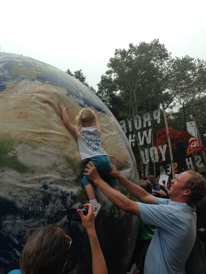 A Moderate's Defense of the People's Climate March